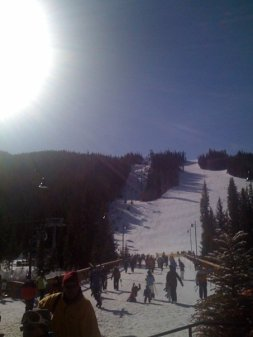 Bluebird Day at Keystone